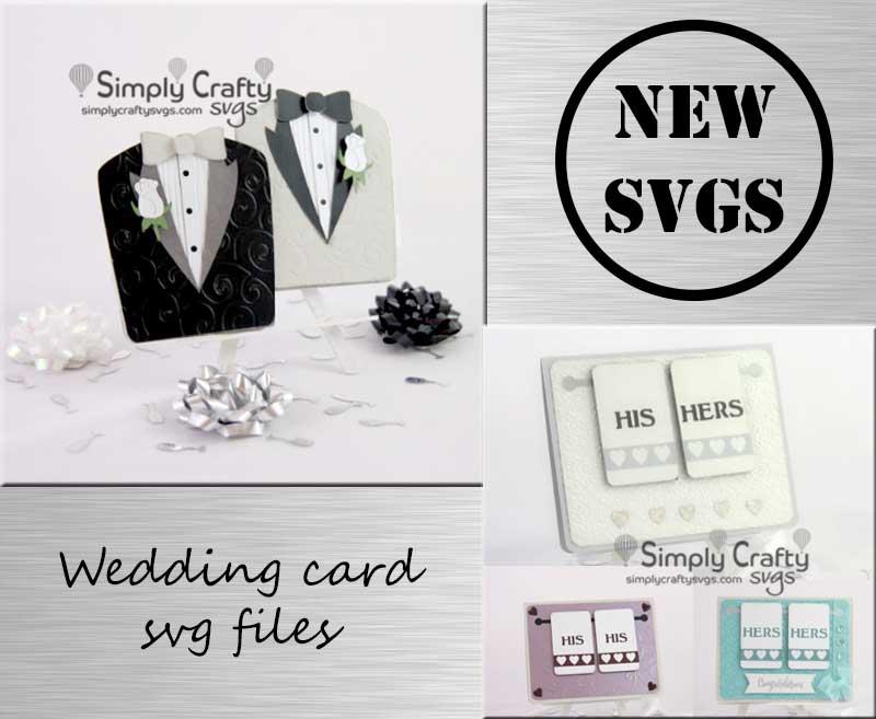 Wedding Card SVG Files