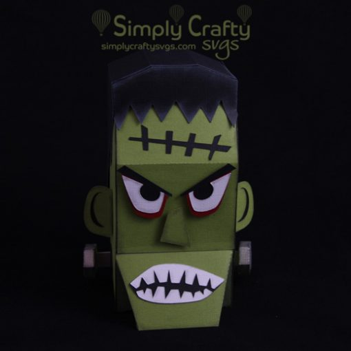 Frankenstein Box SVG File