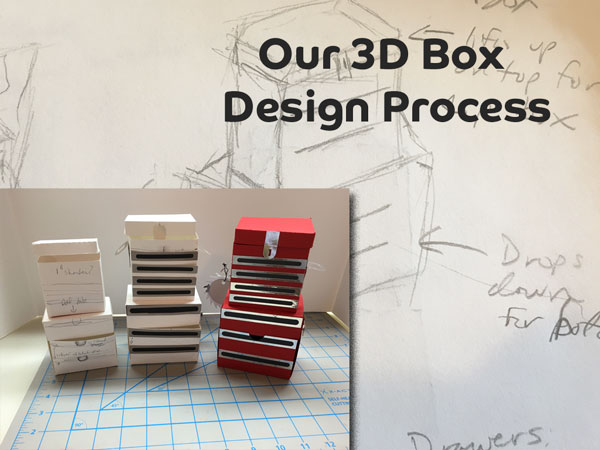 Insider Look – Our 3D Box and Papercrafting Design Process