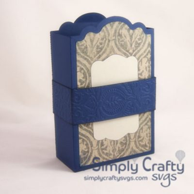 Folding Greeting Card Holder SVG File