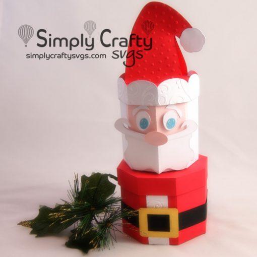 Santa Stacking Box Set SVG File