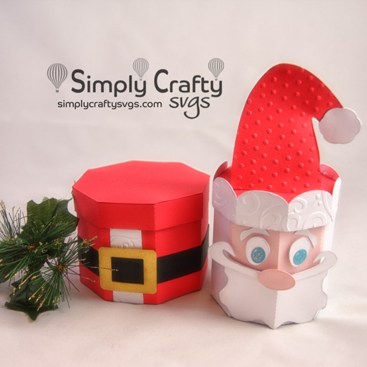 Santa Stacking Box Set SVG File