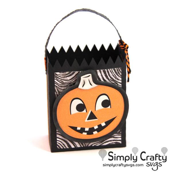 Vintage Halloween Bag Set SVG File