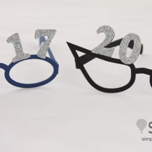 2017 New Years Glasses SVG File