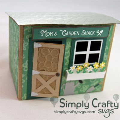 Garden Shack Mom SVG File