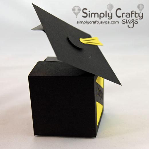 Grad Favor Box SVG File