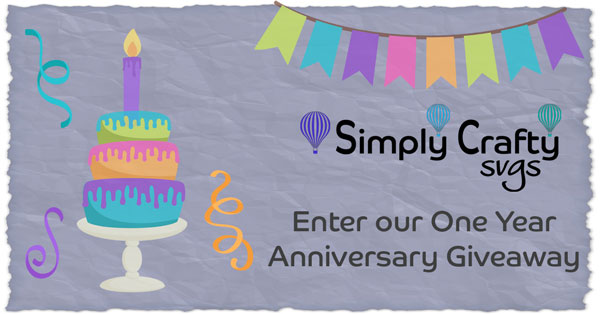 Simply Crafty One Year Anniversary Giveaway