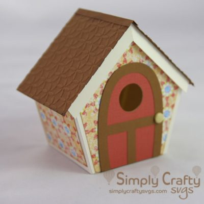 Bird House SVG File