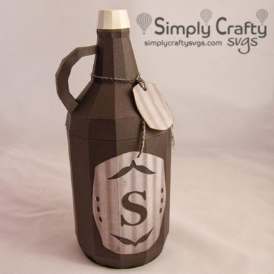 Beer Growler SVG File