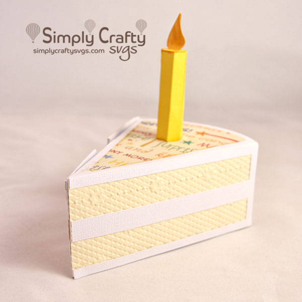 Cake Slice Box SVG File