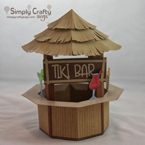 Tiki Bar SVG File