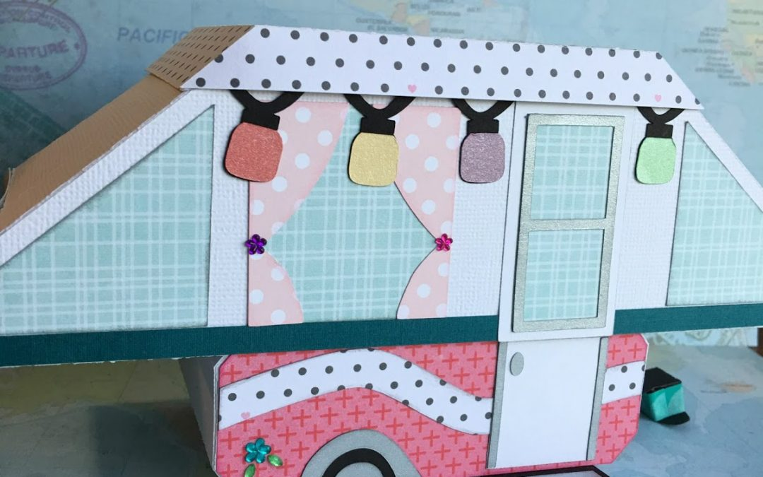 Tent Trailer Box Glamper by DT Kimberly Sisco