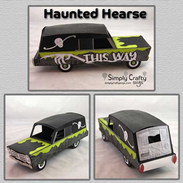 Haunted Hearse SVG File