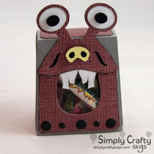 Monster Box with Candy