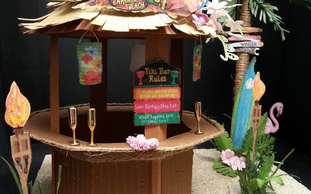 Tiki Bar by DT Els Schutte