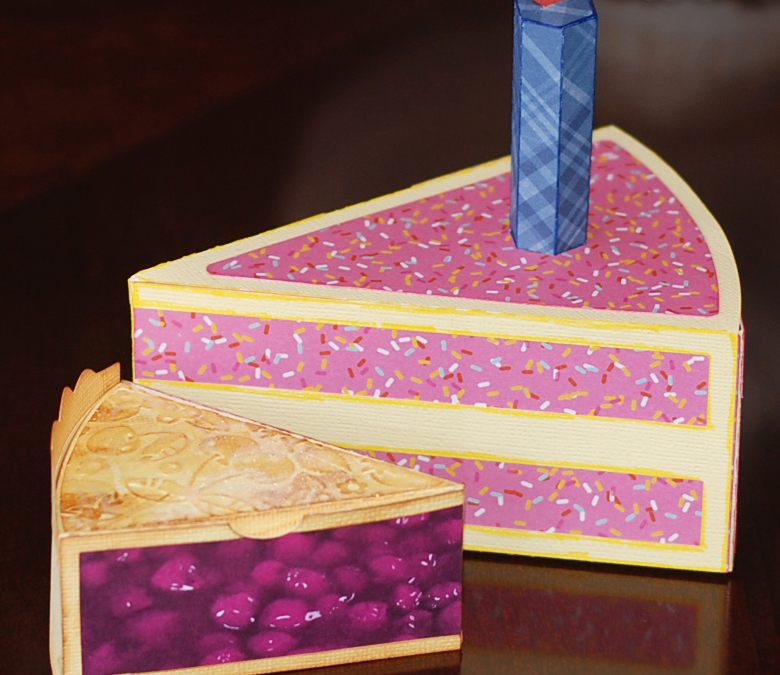 Cake and Pie Boxes by DT Mike Fernholz