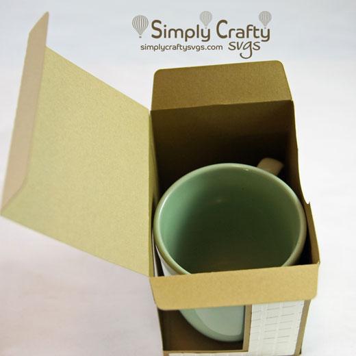 Mug Box SVG file