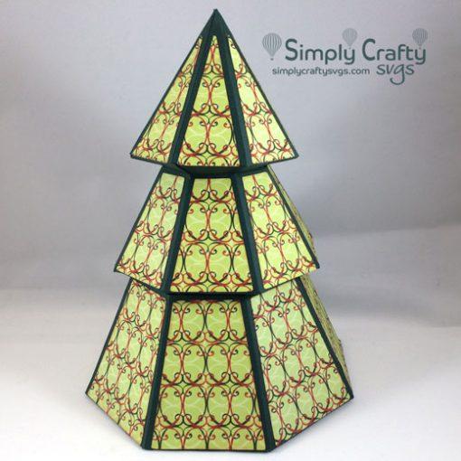 Christmas Tree Box SVG File
