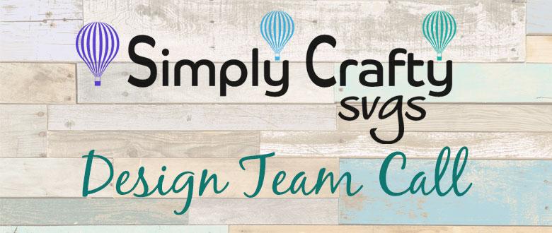 Simply Crafty SVGs Design Team Call 2018