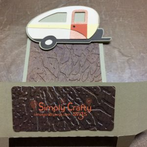 Camping Sticky Notepad Holder