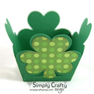 Clover Treat Box SVG File