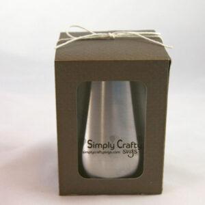 Ozark Medium Stemless Wine Glass Box SVG File