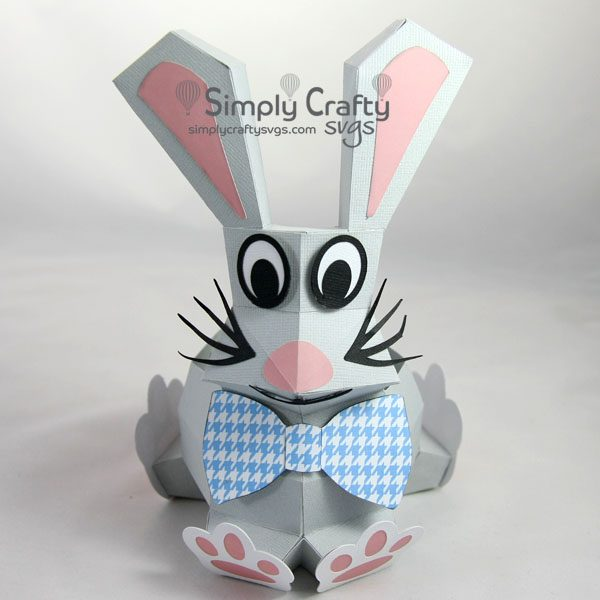 Bunny Box SVG File
