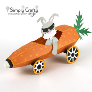 Carrot Hot Rod SVG File