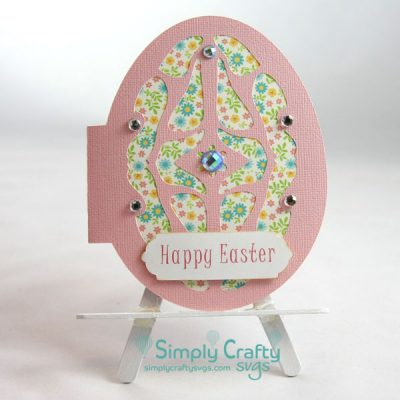 Easter Egg Card SVG File