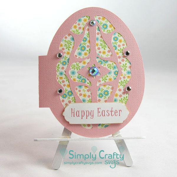 Easter Egg Card SVG File