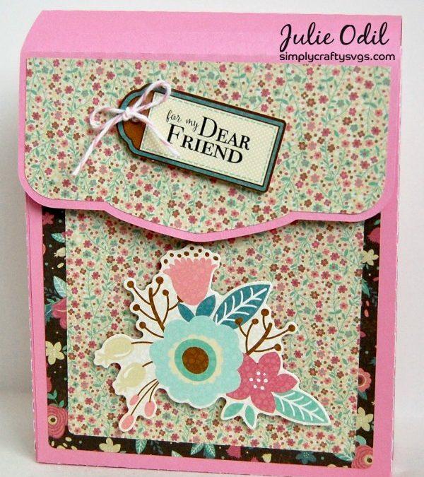 Flip Over Greeting Card Holder by DT Julie