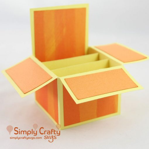 Basic A2 Box Card SVG File