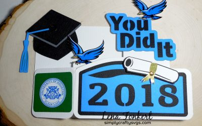 Graduation You Did It Card By DT Lena