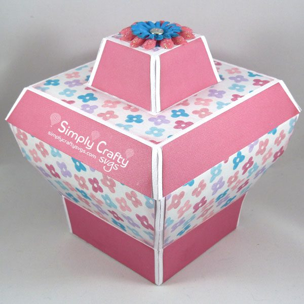Unique Gift Box Set SVG File Box 3