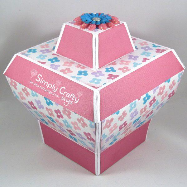 Unique Gift Box Set SVG File Box 3