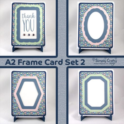 A2 Frame Card Set 2 SVG File