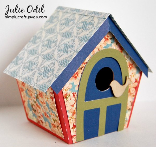 Spring Birdhouse By DT Julie