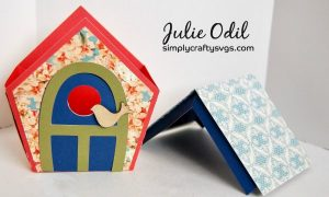 Spring Bird House By DT Julie