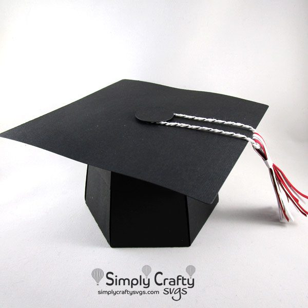 Graduation Explosion Box SVG File