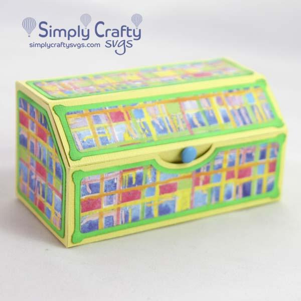 Slanted Gift Box SVG File