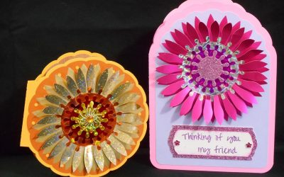 Sunflower and Gerbera Daisy Cards by DT Jana