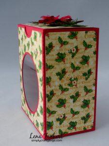 Disc Ornament Boxes By DT Lena