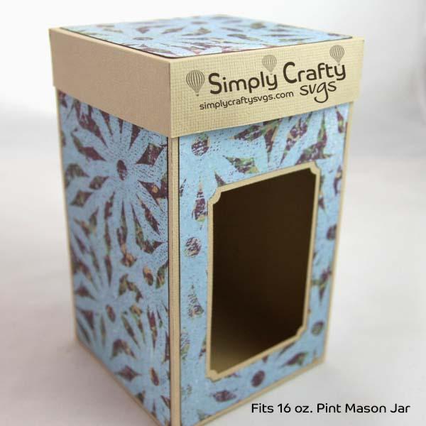 Pint Mason Jar Box