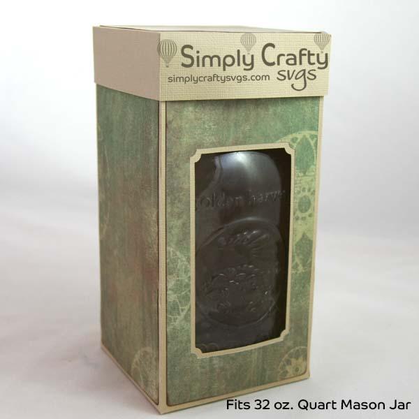 Quart Mason Jar Box