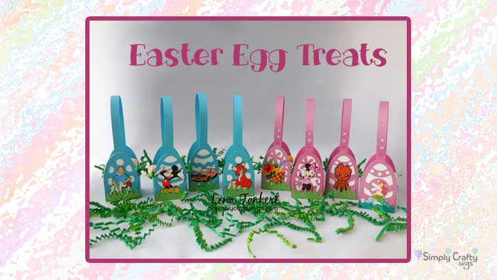 Easter Egg Treat and Place Cards by DT Lena
