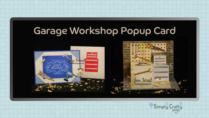 Garage Workshop Card by DT Jana