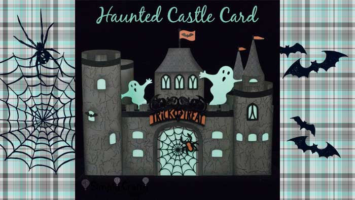 Haunted Halloween Castle by DT Janet Packer