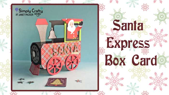 Santa Express Box Card by DT Janet Packer