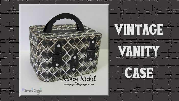 Vintage Vanity Case By DT Nancy