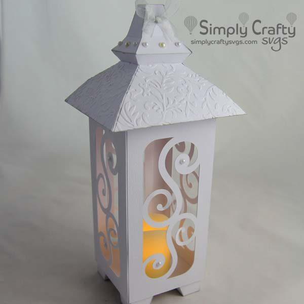 Simple Elegance Lantern SVG File
